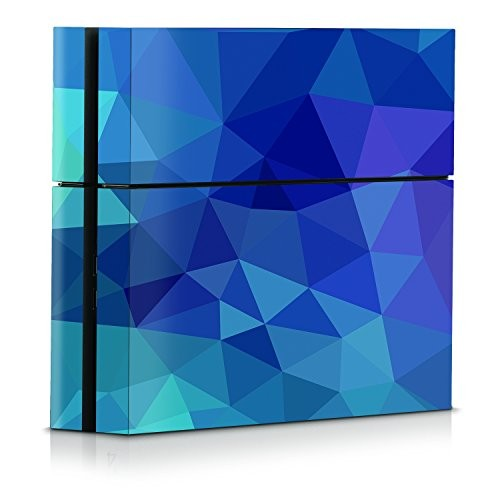 Officially Licensed Console Skin - Dark Blue Poly