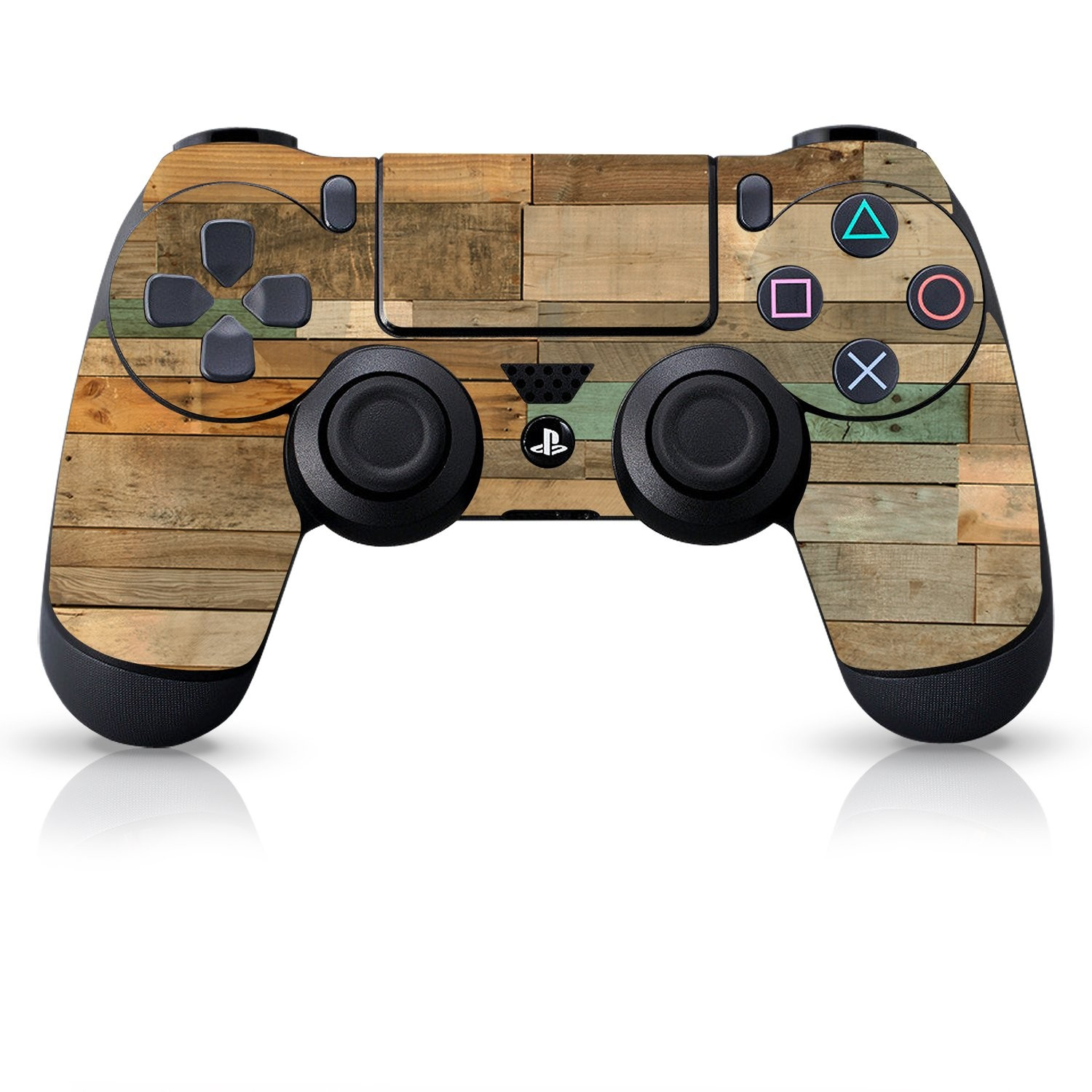 Officially Licensed Controller Skin - Reclaimed Wood