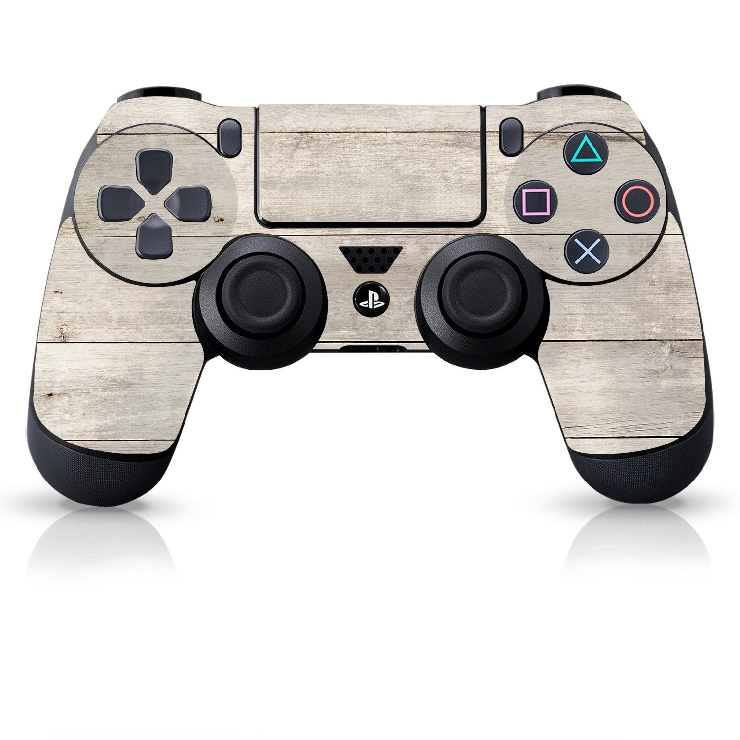 Officially Licensed Controller Skin - Beach Wood