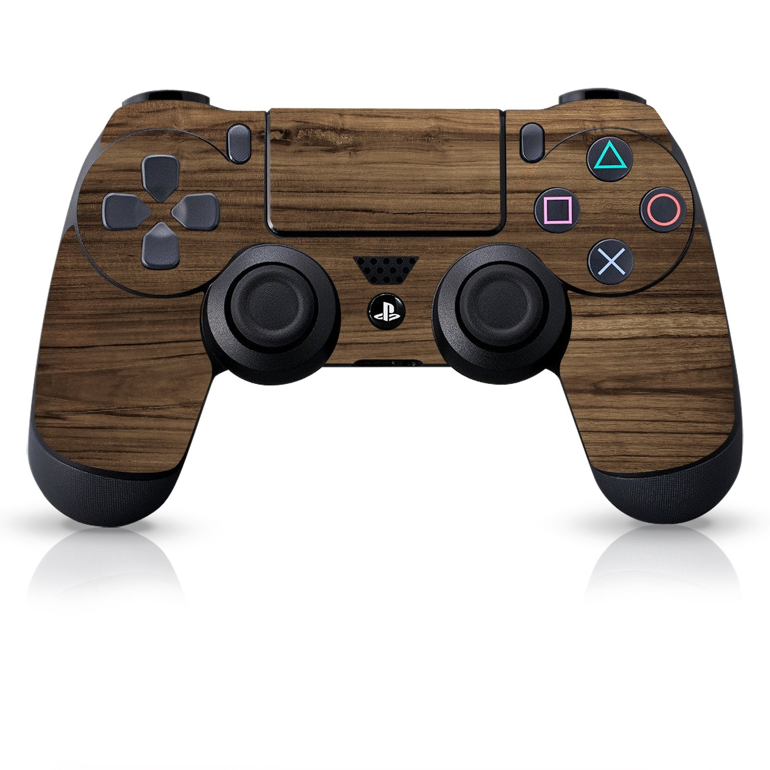 Officially Licensed Controller Skin - Wood Grain