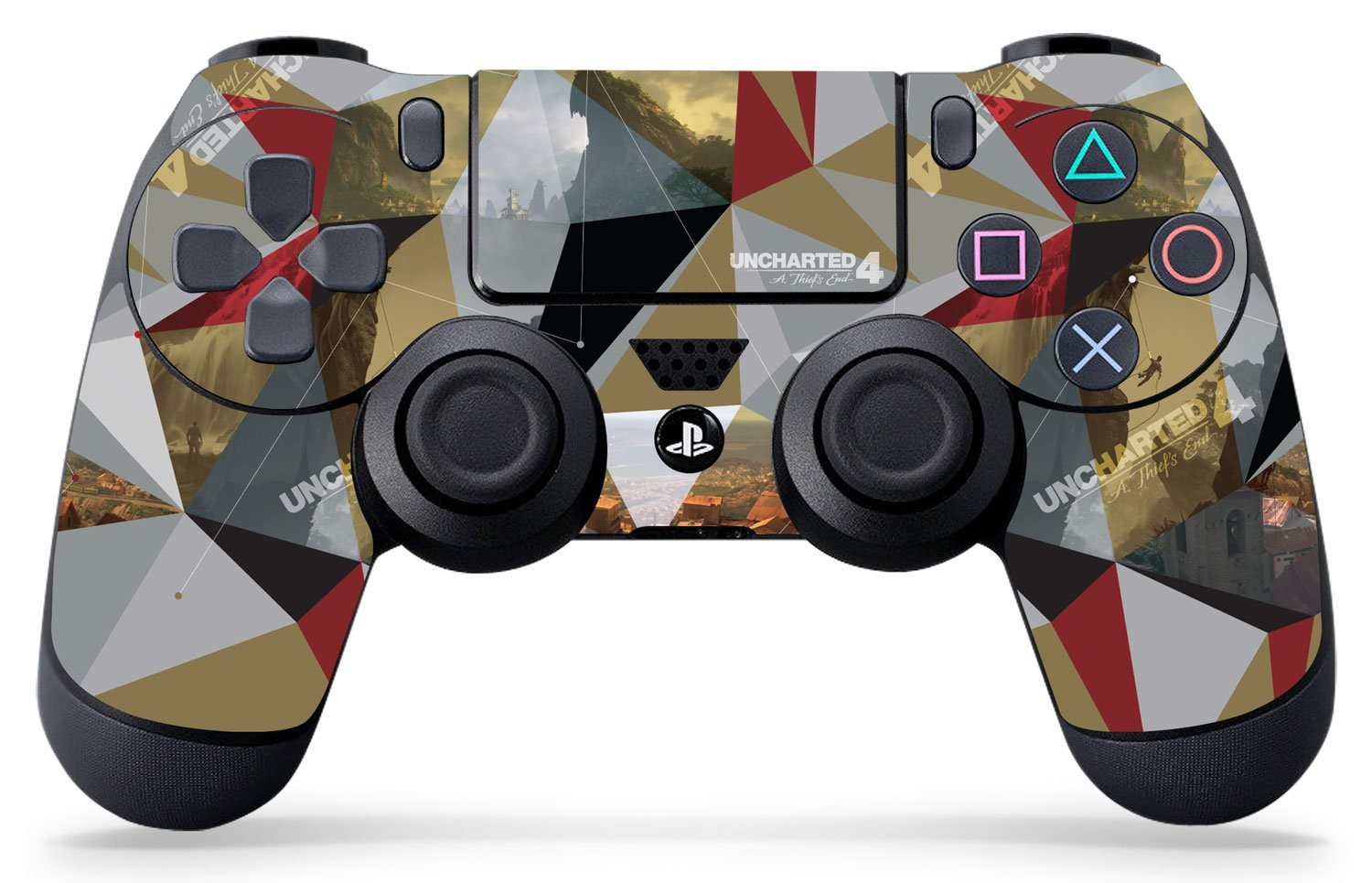 Uncharted 4 Madagascar - PS4 Controller Skin - Officially Licensed by PlayStation - Controller Gear