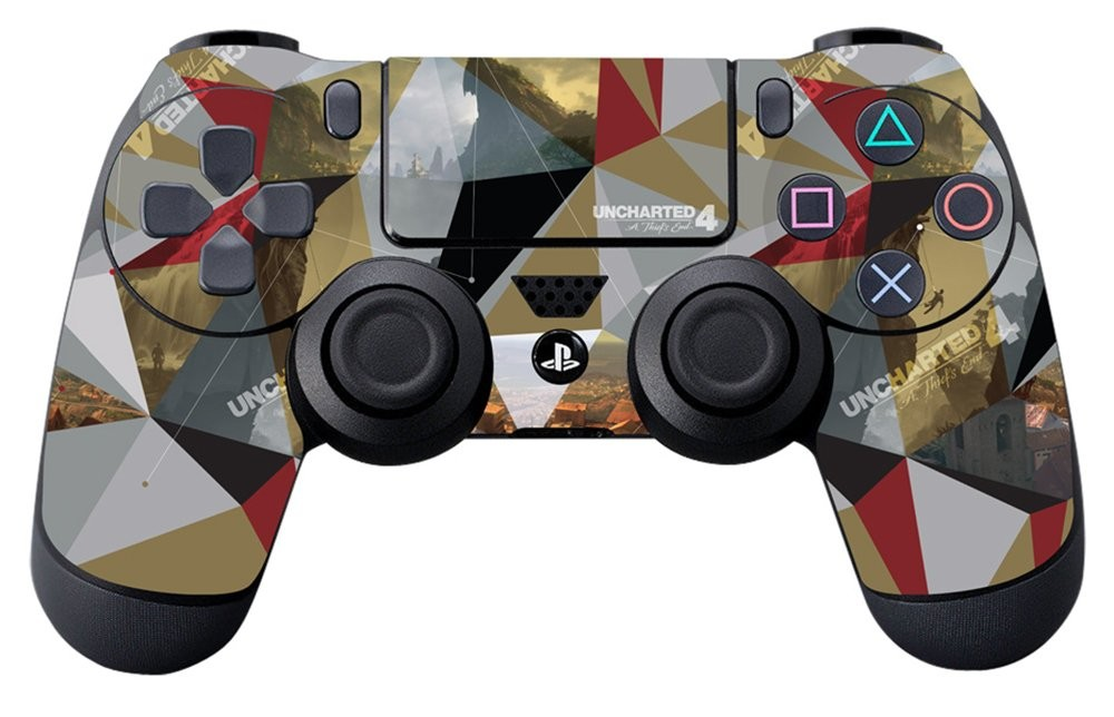 Uncharted 4 Madagascar - Controller Skin - Officially Licensed by Playstation - Controller Gear