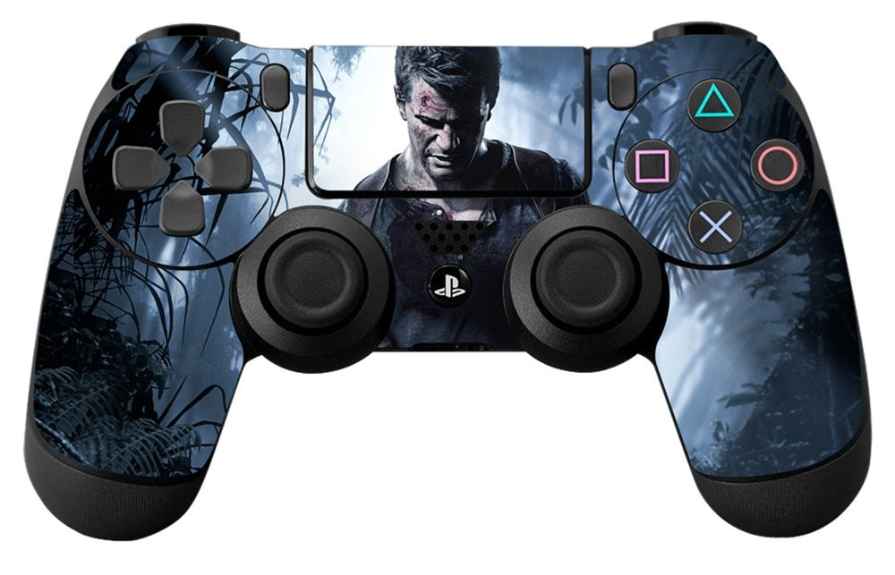 Uncharted 4 A Thief's End - Controller Skin - Officially Licensed by Playstation - Controller Gear