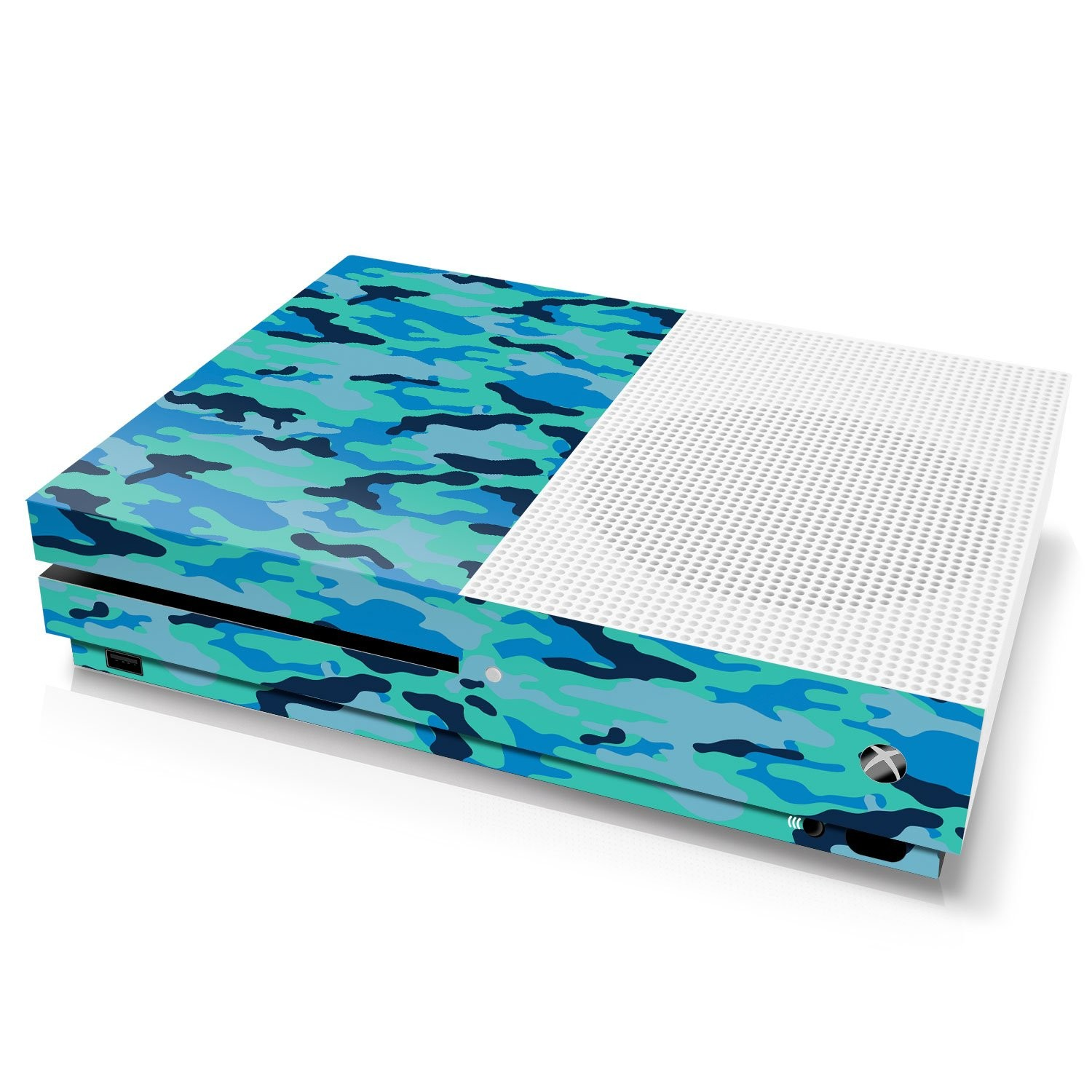 Xbox One S Console Skin - Camouflage: Seal - Officially Licensed by Xbox