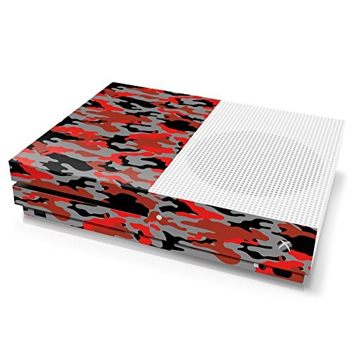 Xbox One S Console Skin - Camouflage: Ox Blood - Officially Licensed by Xbox