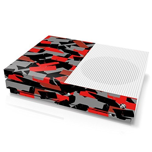 Xbox One S Console Skin - Camouflage: Ox Blood Torn Tape - Officially Licensed by Xbox