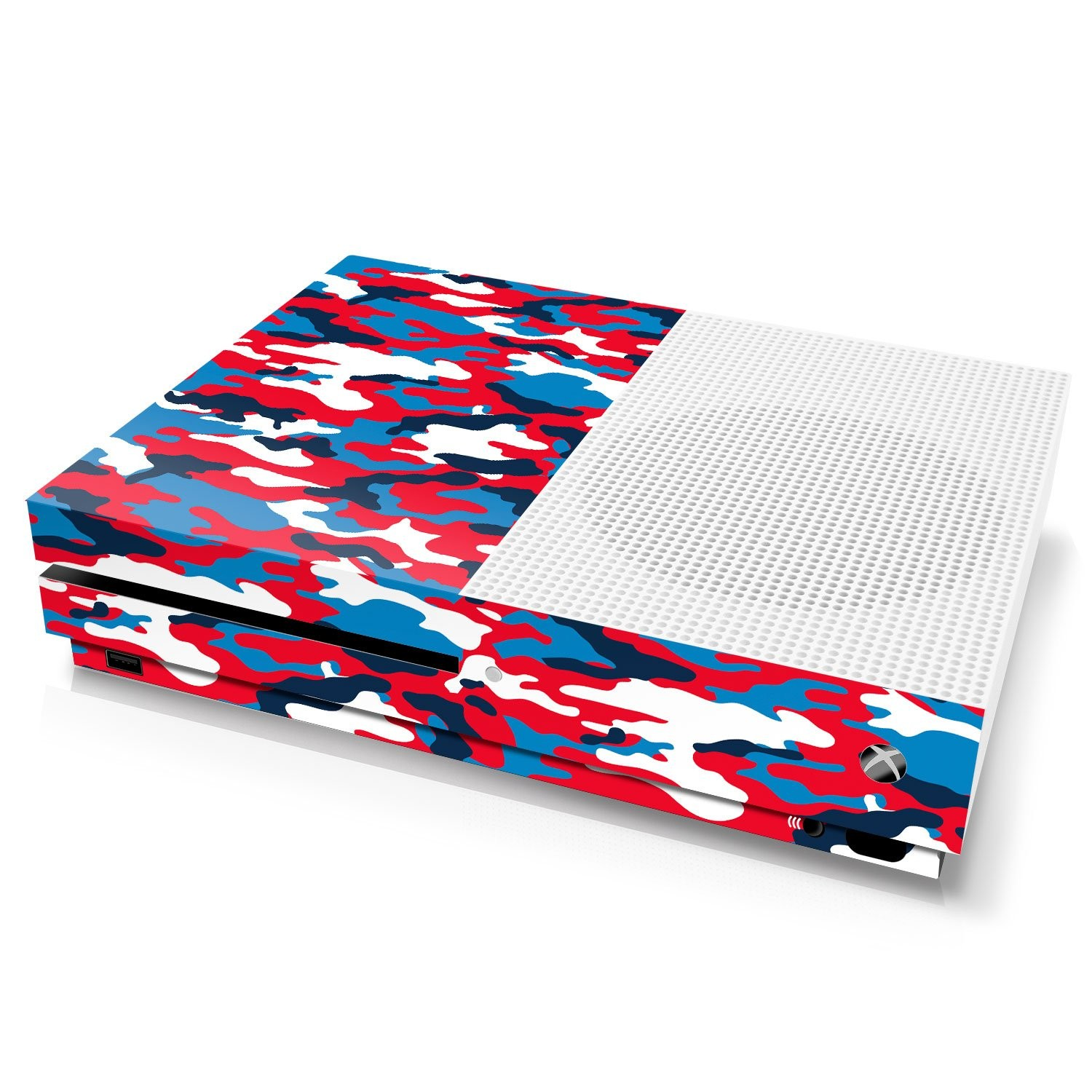 Xbox One S Console Skin - Camouflage: High Fashion - Officially Licensed by Xbox
