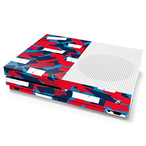 Xbox One S Console Skin - Camouflage: High Fashion Torn Tape - Officially Licensed by Xbox