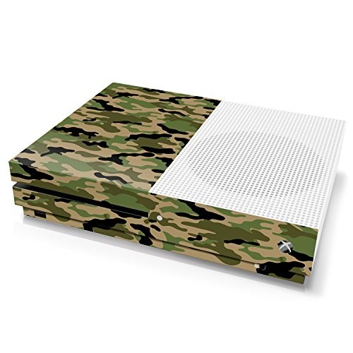 Xbox One S Console Skin - Camouflage: Forest - Officially Licensed by Xbox