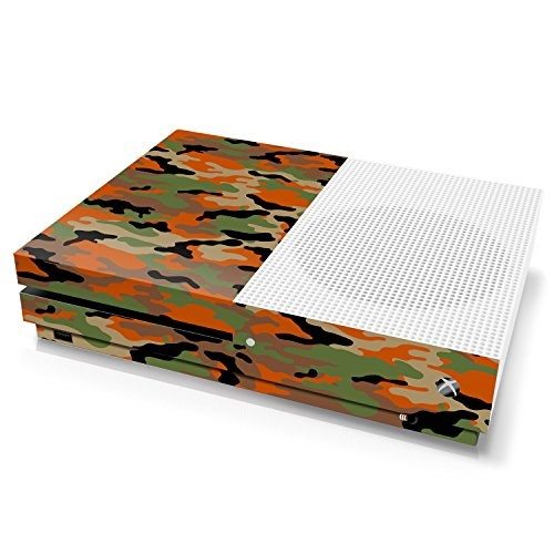 Xbox One S Console Skin - Camouflage: Flecktarn - Officially Licensed by Xbox