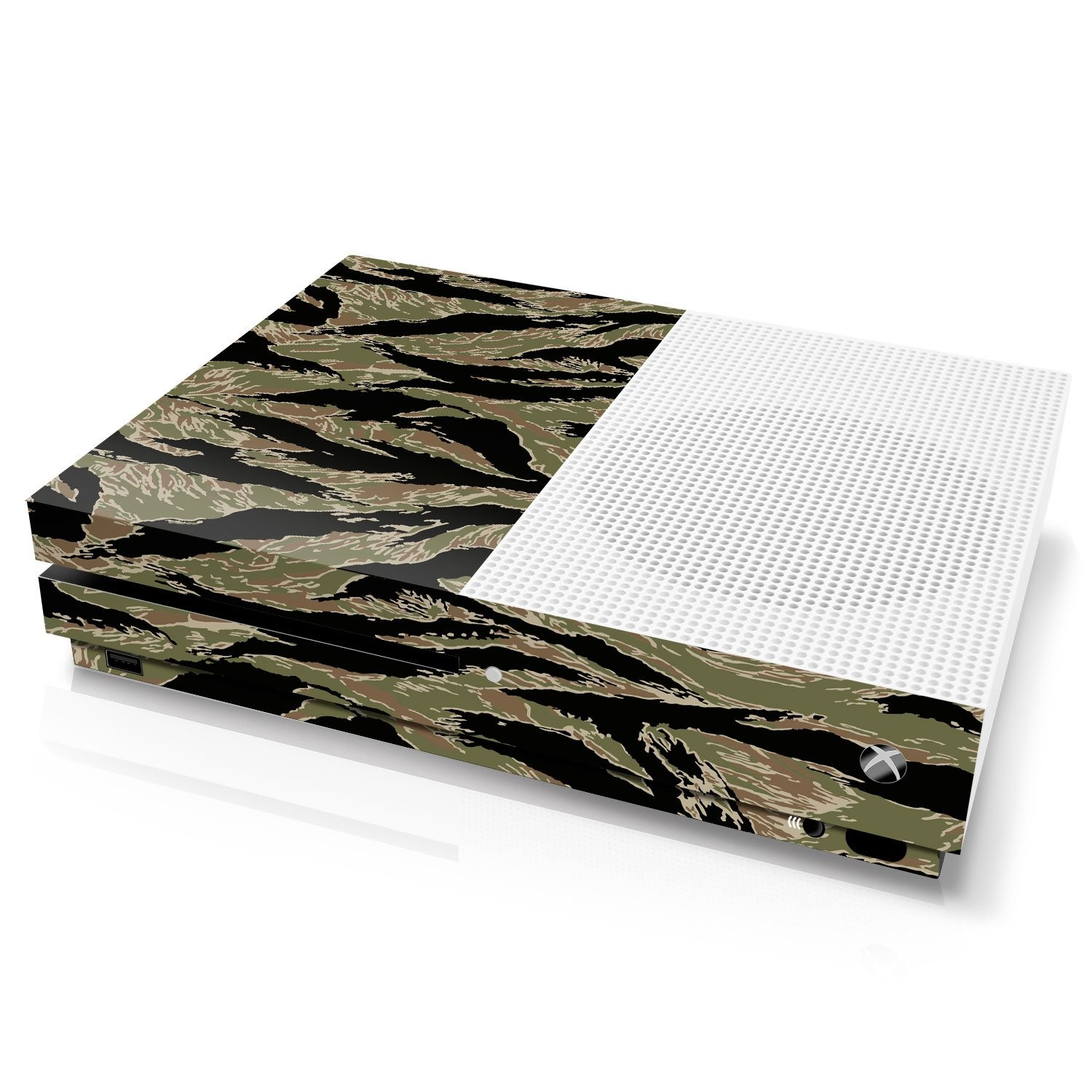 Xbox One S Console Skin - Camouflage: Tiger Stripe - Officially Licensed by Xbox