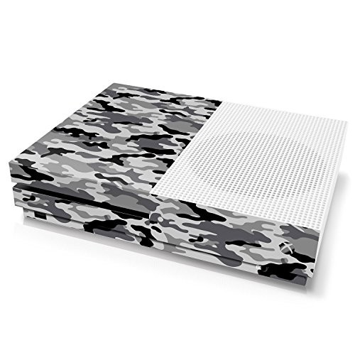 Xbox One S Console Skin - Camouflage: Urban - Officially Licensed by Xbox