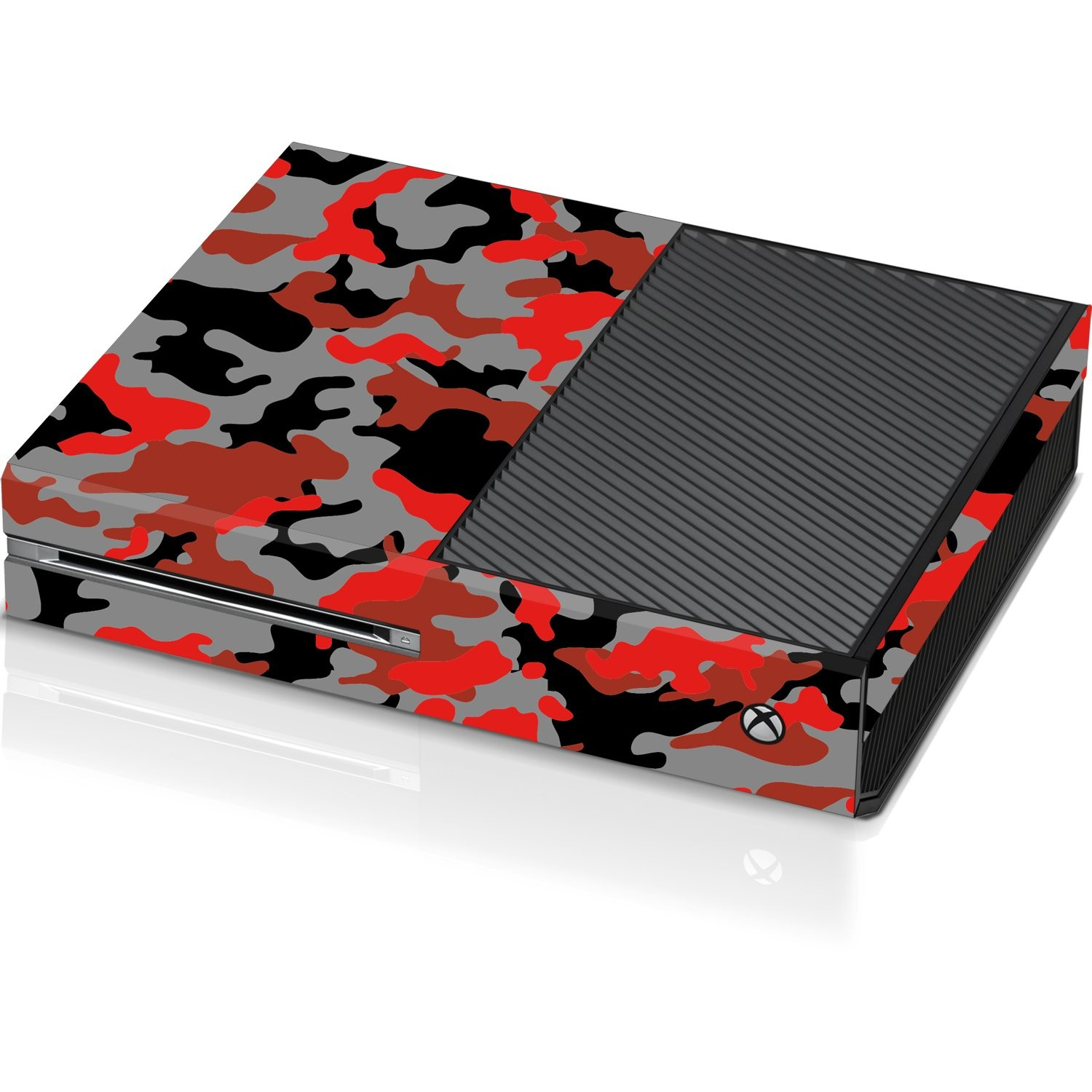 Xbox One Console Skin - Ox Blood Camo - Officially Licensed by Xbox
