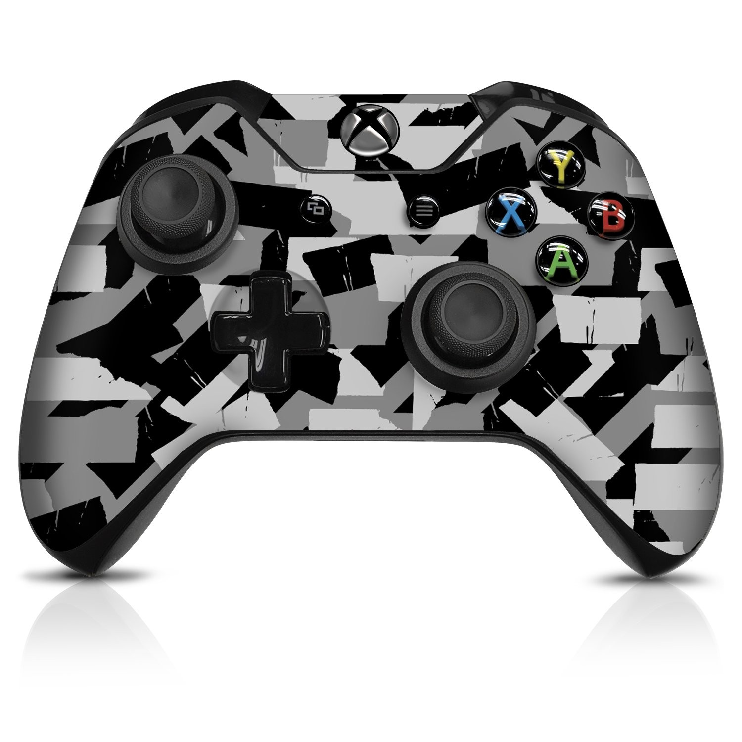 Urban Camo Torn Tape - Xbox One Controller Skin - Officially Licensed by Xbox