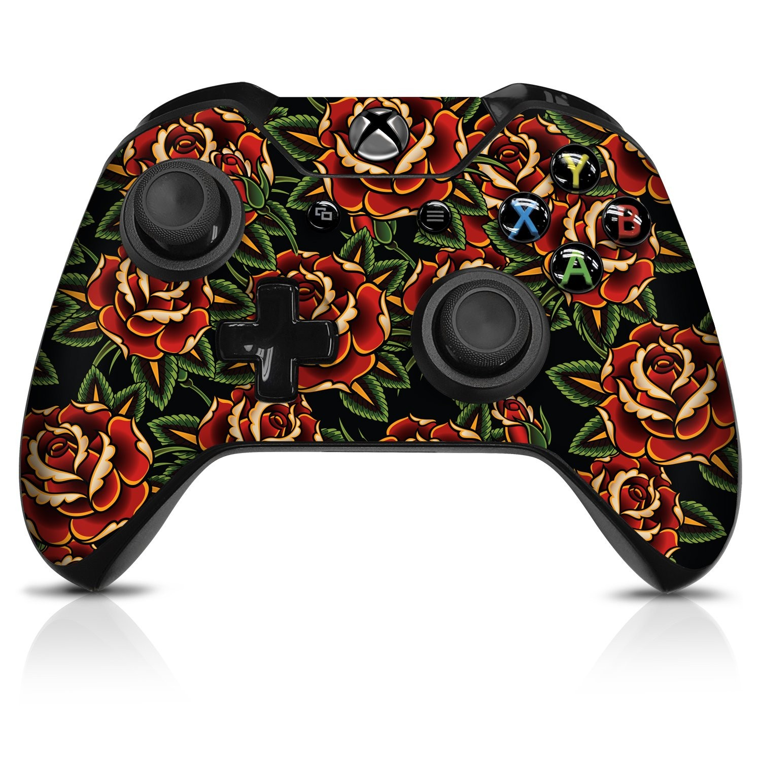 Roses  Xbox One Controller Skin - Officially Licensed by Xbox - Controller Gear