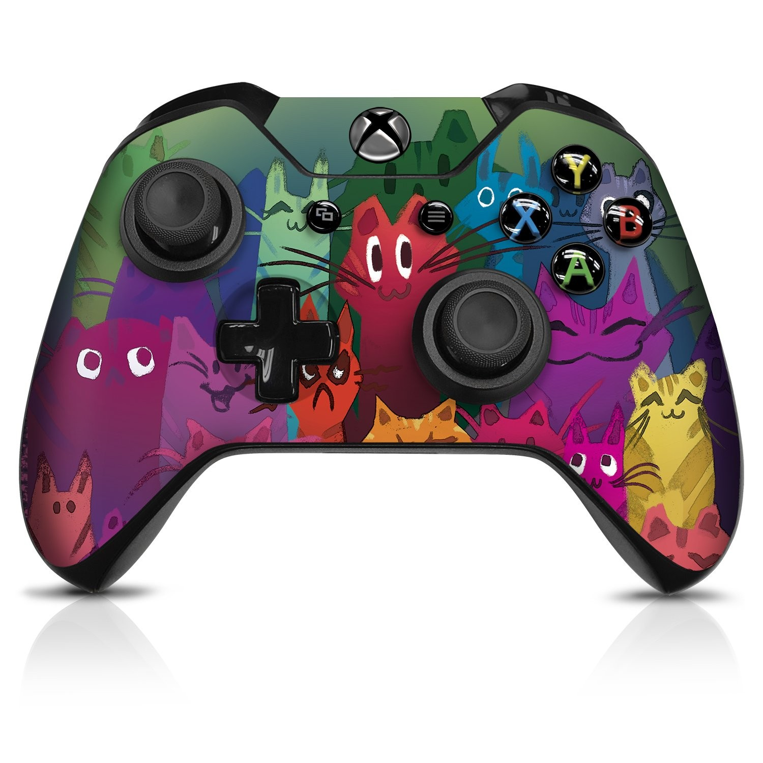 Cats  Xbox One Controller Skin - Officially Licensed by Xbox - Controller Gear