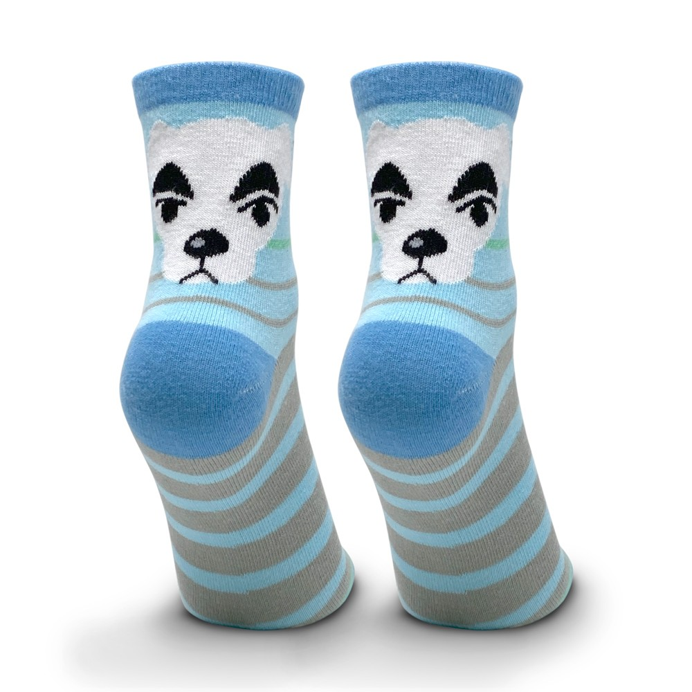 Stripes Crew Socks- Image 1