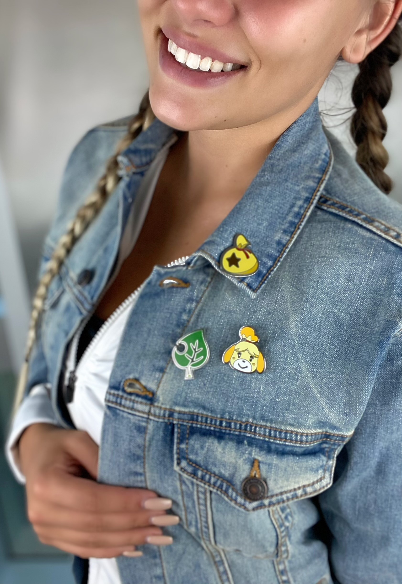 Animal Crossing Icons Lapel Pin Set Image 1