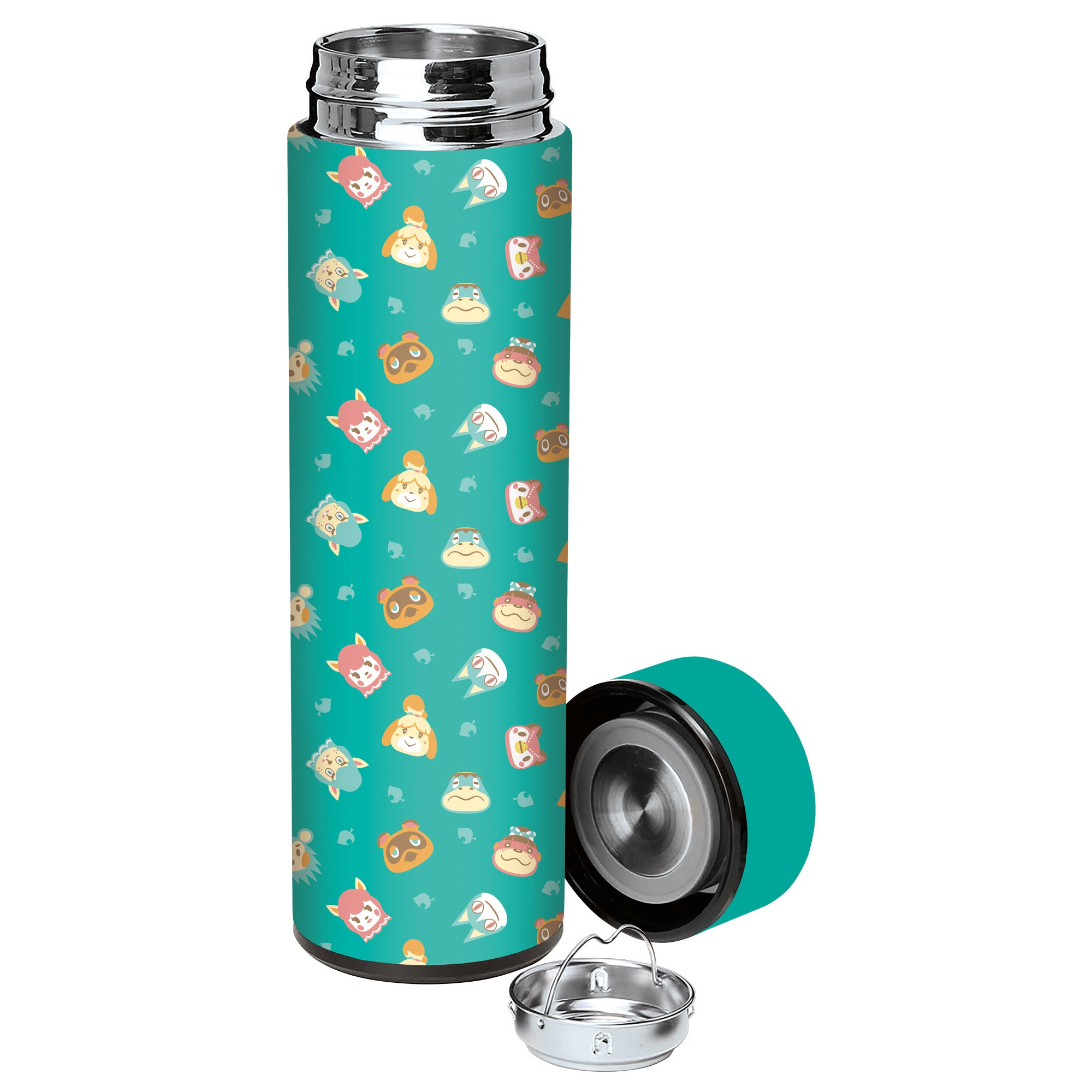 Animal Crossing Stainless Steel Water Bottle, Image 1