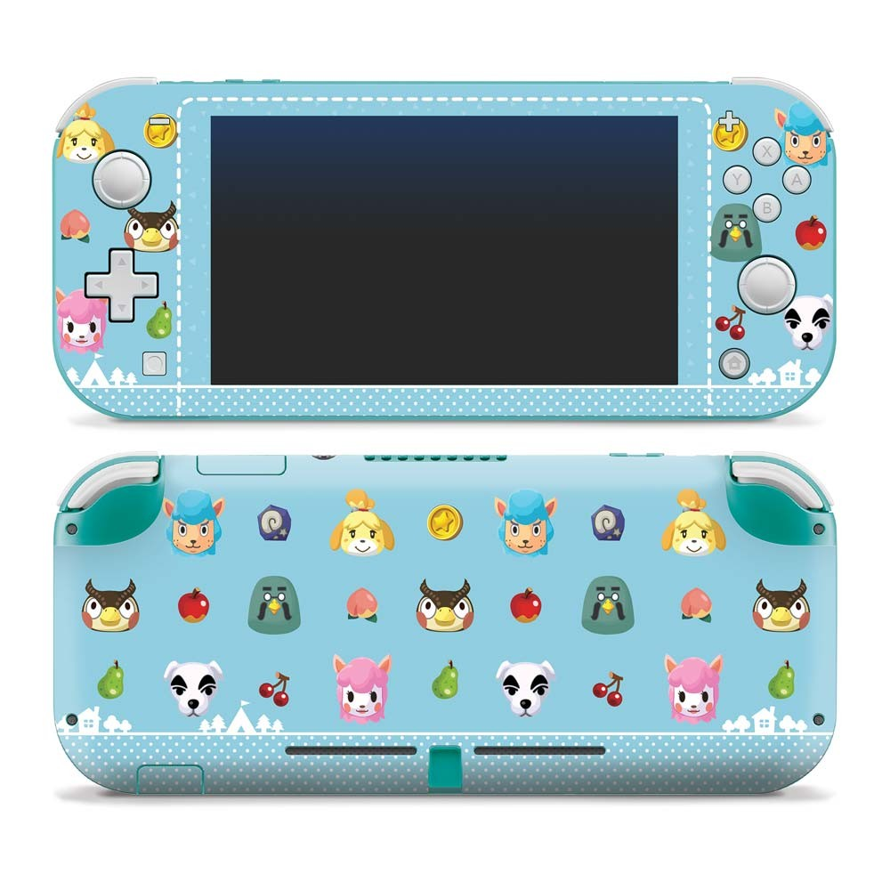 Animal Crossing - Party Animals - Nintendo Switch Lite Skin image 1