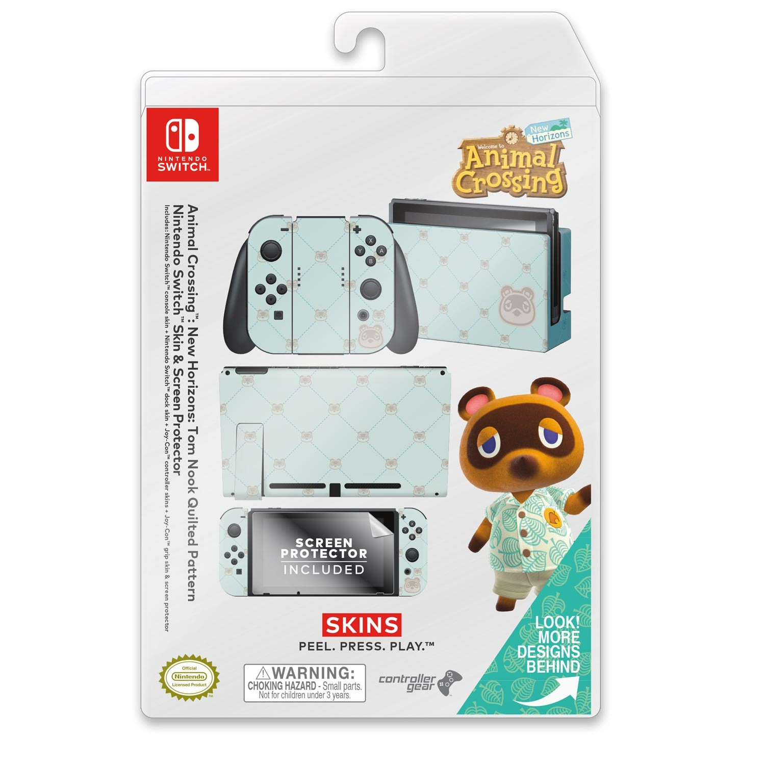 Animal Crossing Nintendo Switch - Tom Nook Quilted Image 1