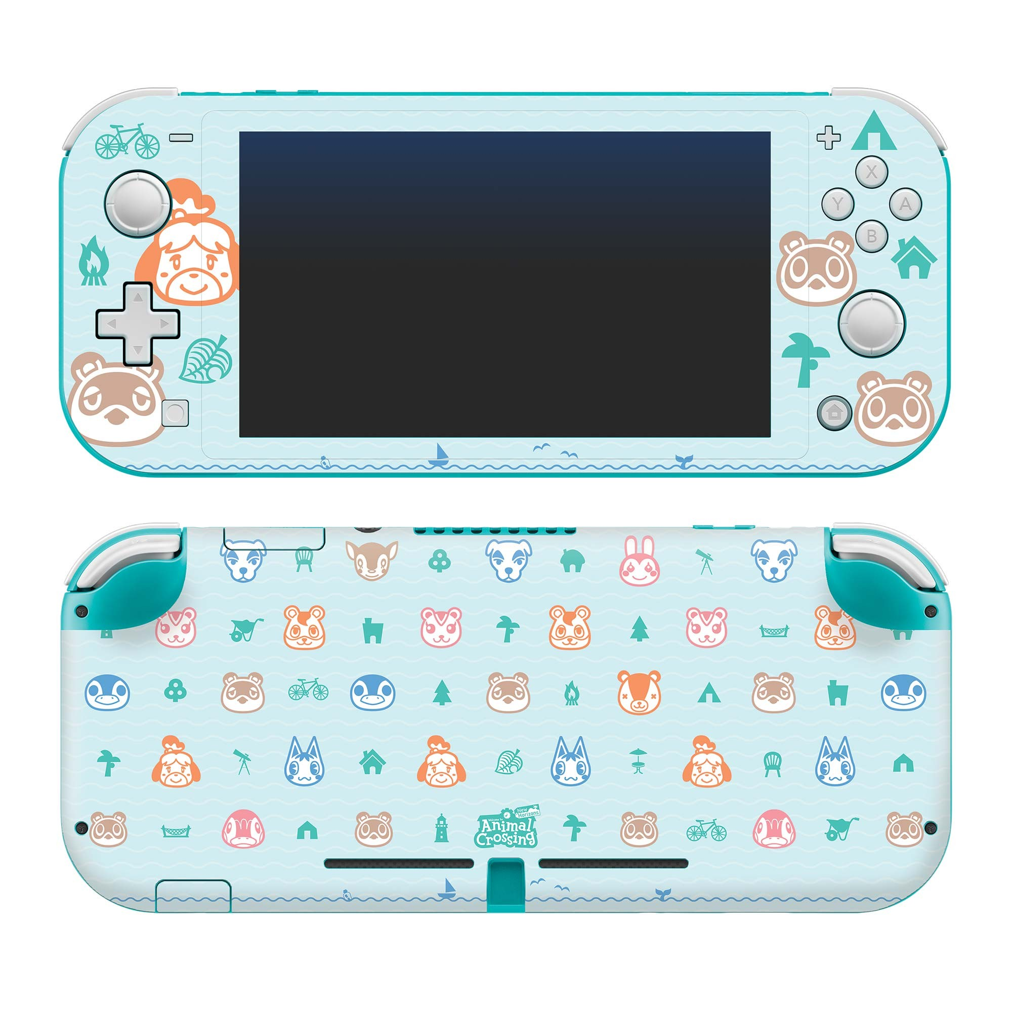 Animal Crossing Nintendo Switch Lite Outdoor Pattern