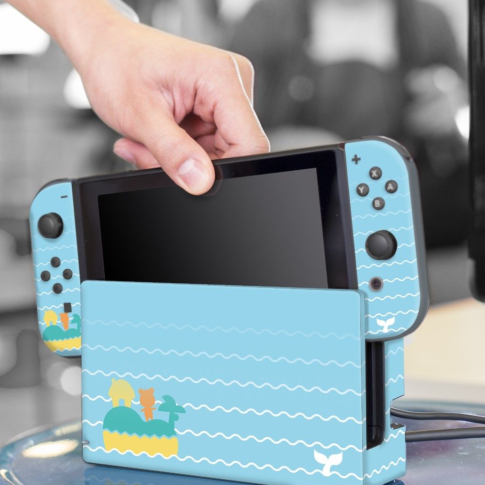 Whale Tales Nintendo Switch Skin Bundle Image 1