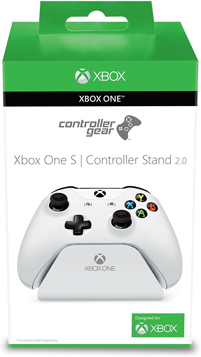 Xbox One White Controller Stand v2.0 - Officially Licensed By Xbox - Controller Gear