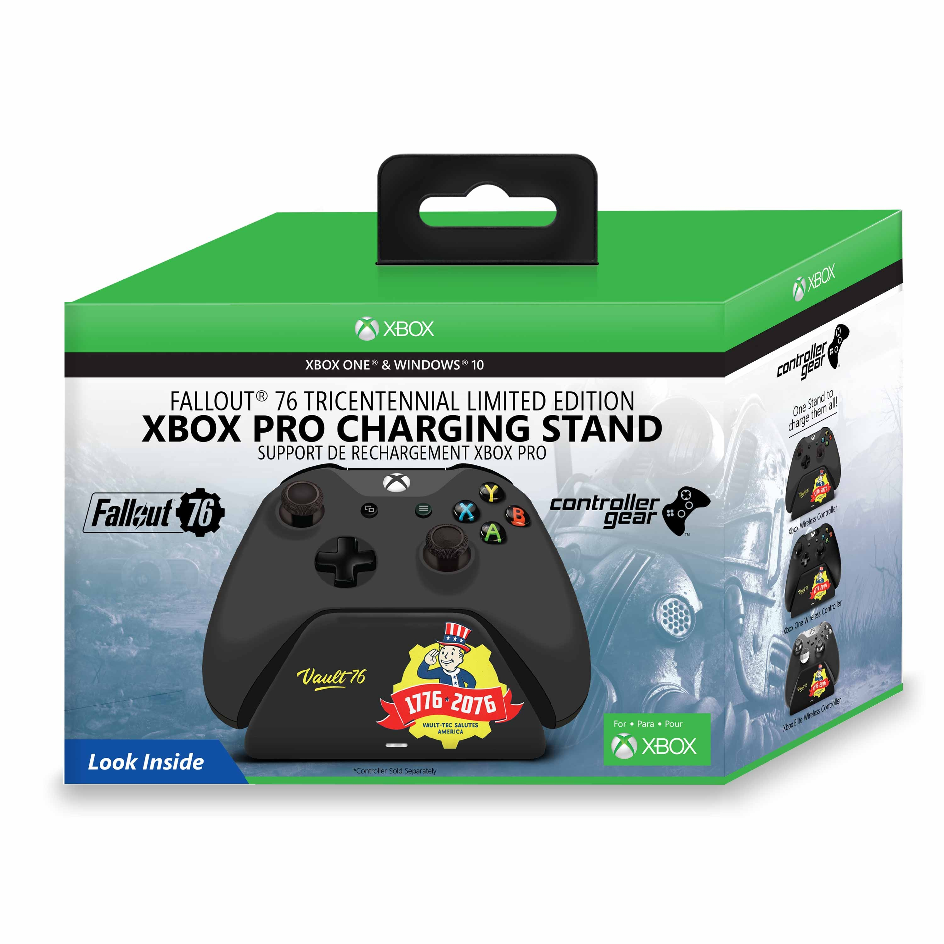 Fallout 76 - Tricentennial Limited Edition Xbox Pro Charging Stand - Xbox One (Controller Sold Separately)