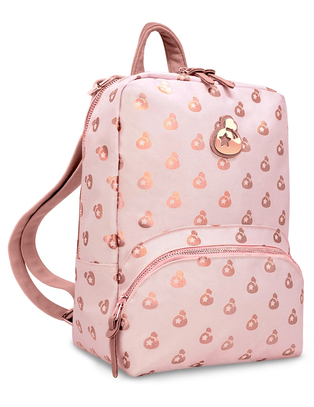 Rose Gold Bellionaire Bundle - Mini Backpack Switch Case, Stainless Steel Bottle - Nintendo Switch