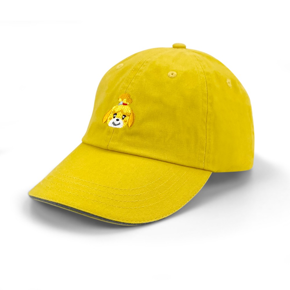 Yellow Isabelle Curved Bill Hat Image 1