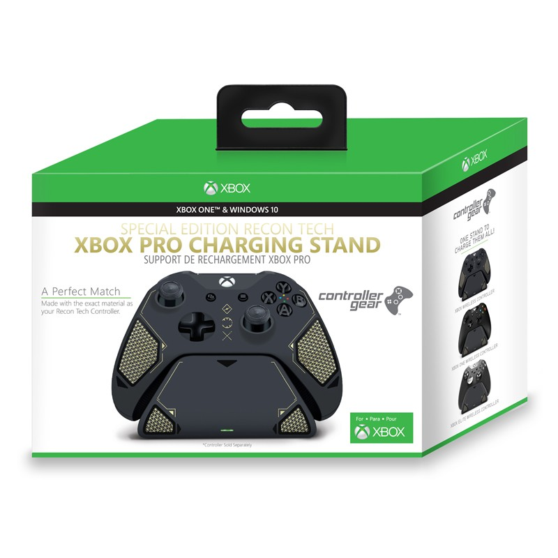 Recon Tech Xbox Pro Charging Stand. Exact match to your Xbox One Recon Tech Controller. Officially Licensed and Designed for Xbox (Stand)