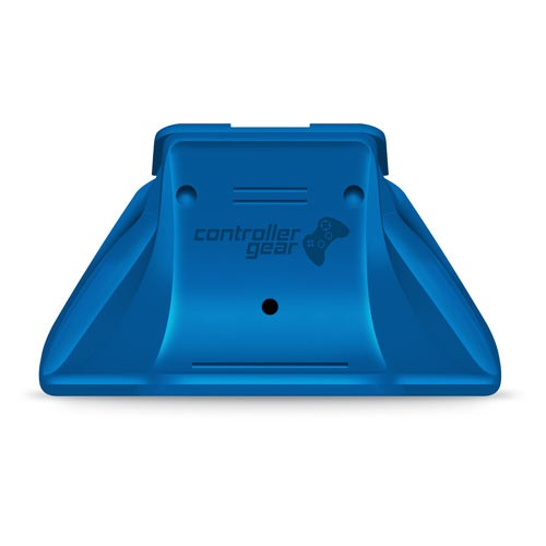 Xbox Pro Controller Charging Stand with a Photon Blue Design, Image 1