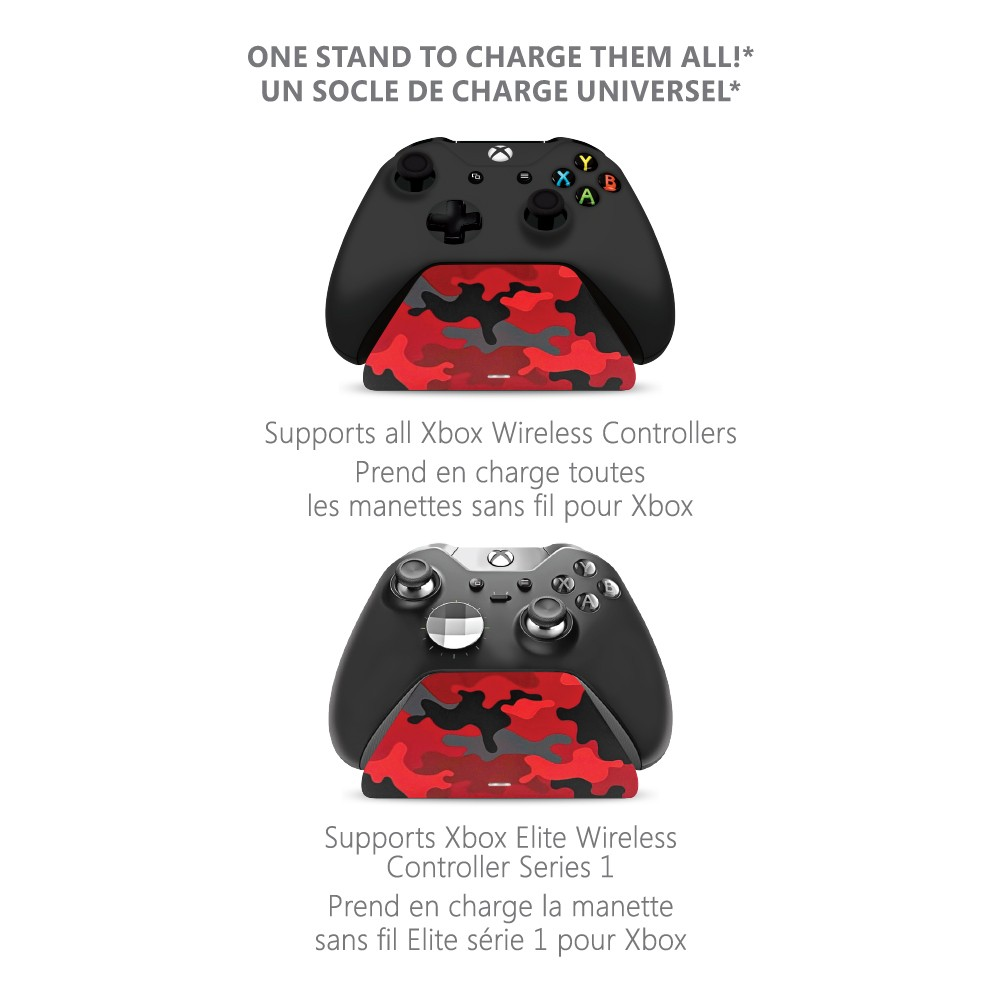 Controller Gear Daystrike Camo Universal Xbox Pro Charging Stand