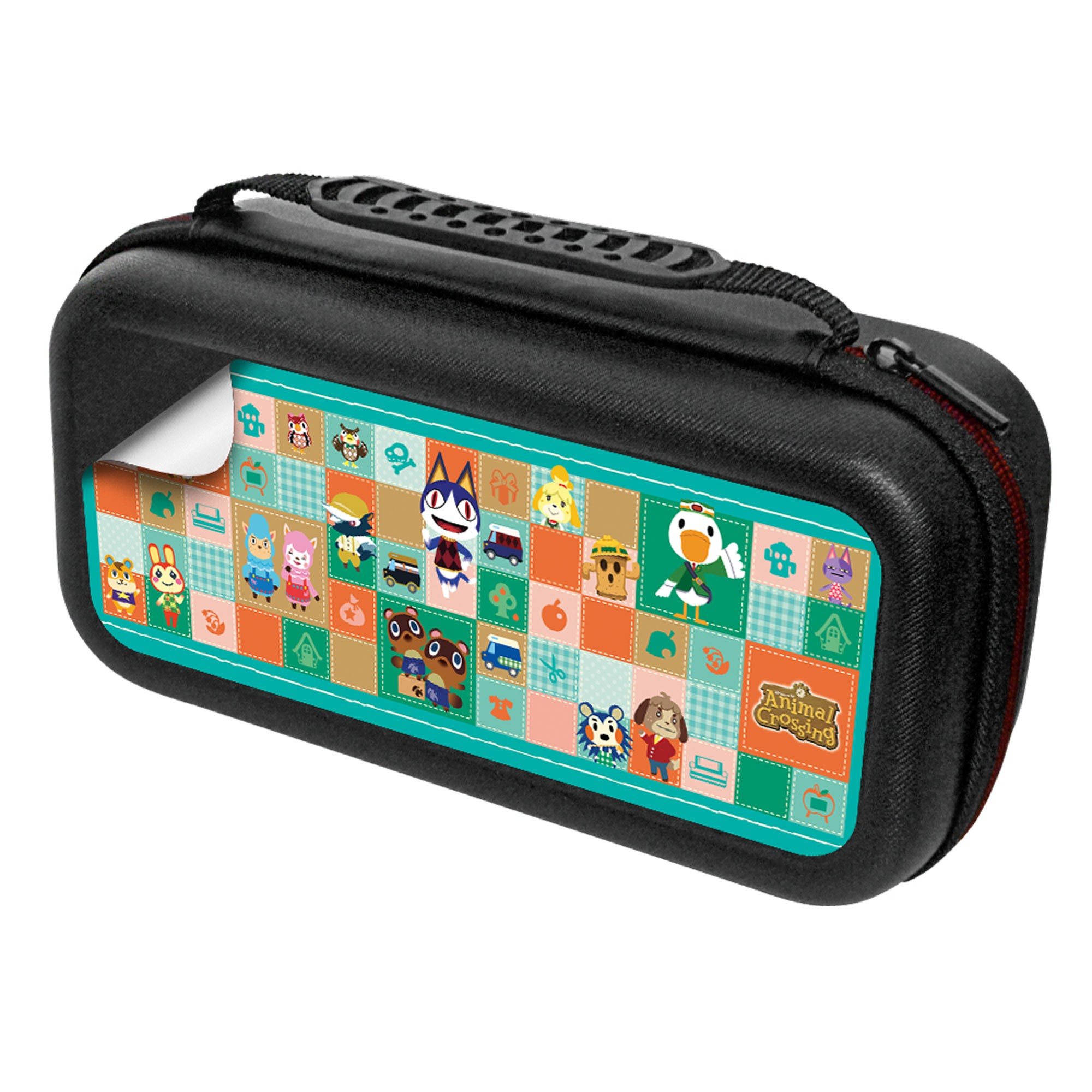 Animal Crossing Nintendo Switch Case Set Quilted Patches
