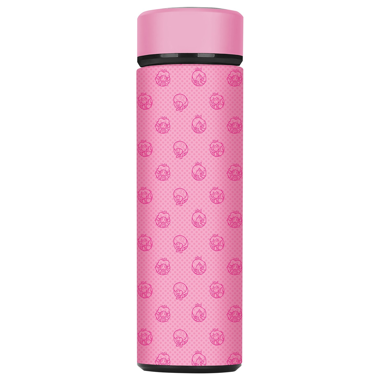 "Super Mario™ ""Princess Peach"" Insulated Steel Sport Bottle - Officially Licensed by Nintendo"