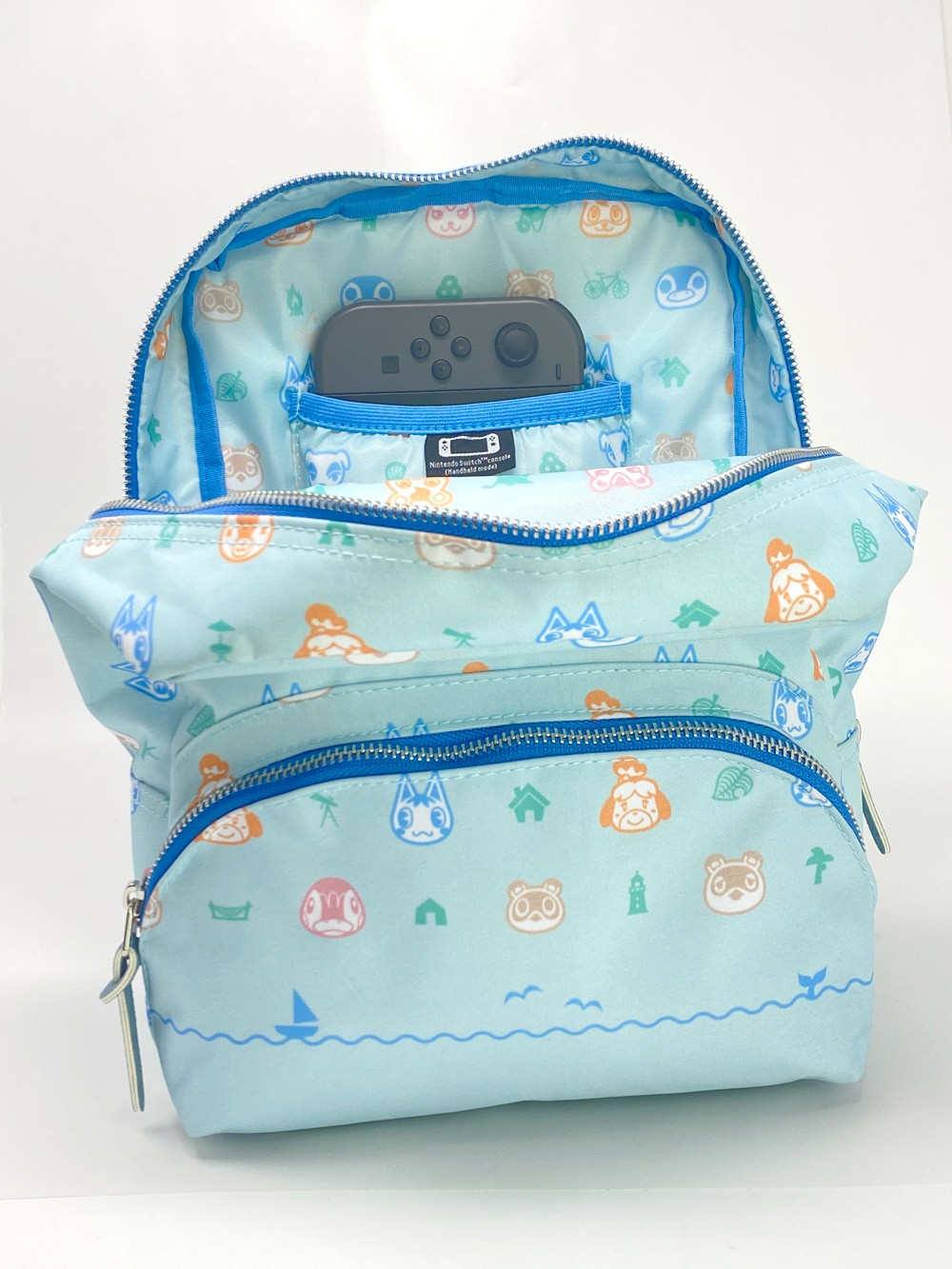 Controller Gear Animal Crossing: New Horizons Bag & Mini Backpack for Women, Girl's, Kids. Nintendo Switch, Lite Case, Accessories, Travel Bag, Carrying Case. Outdoor Pattern - Nintendo Switch