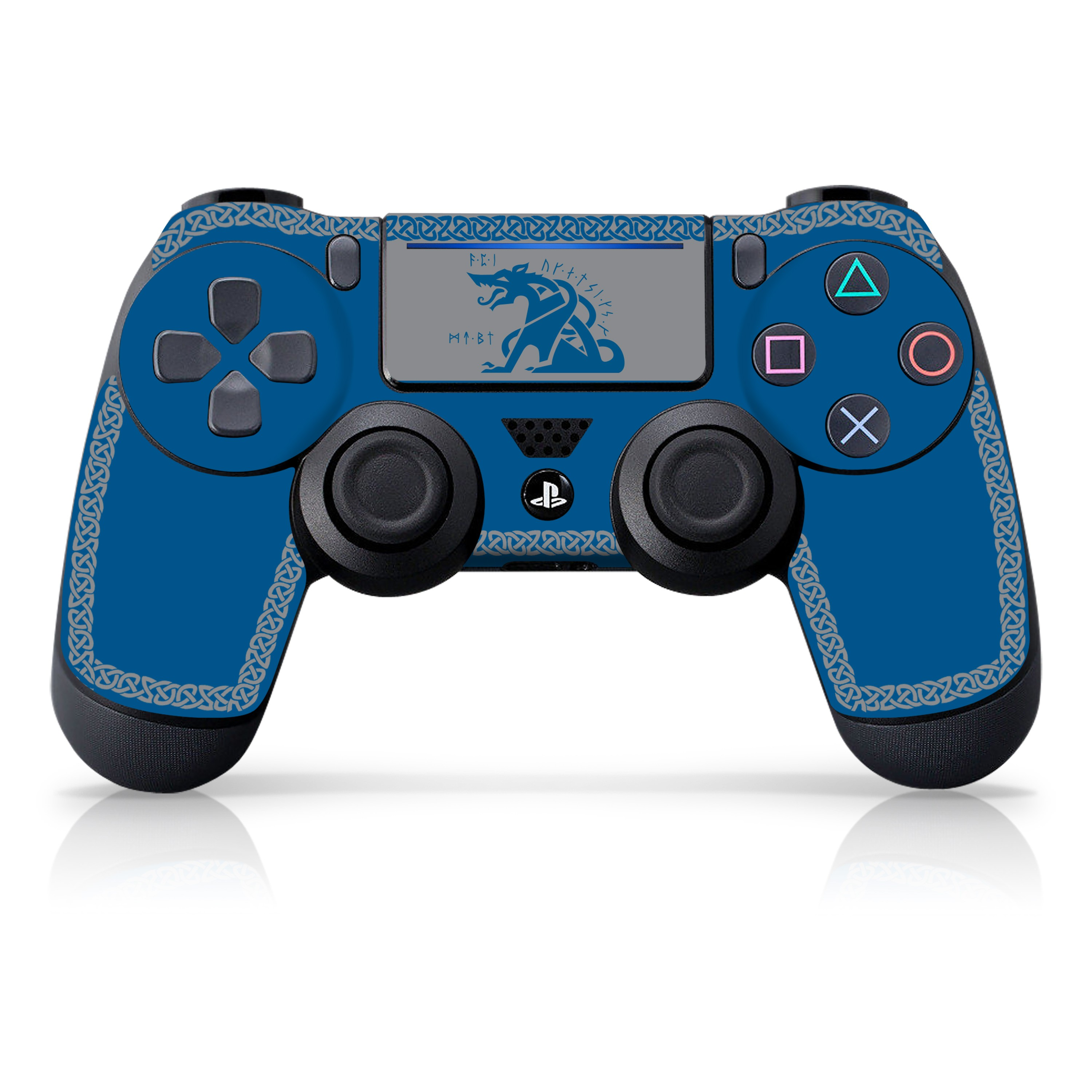 """Officially Licensed PlayStation 4 God of War DUALSHOCK 4 Wireless Controller Skin and Tech Decals """"Fenrir"""""""
