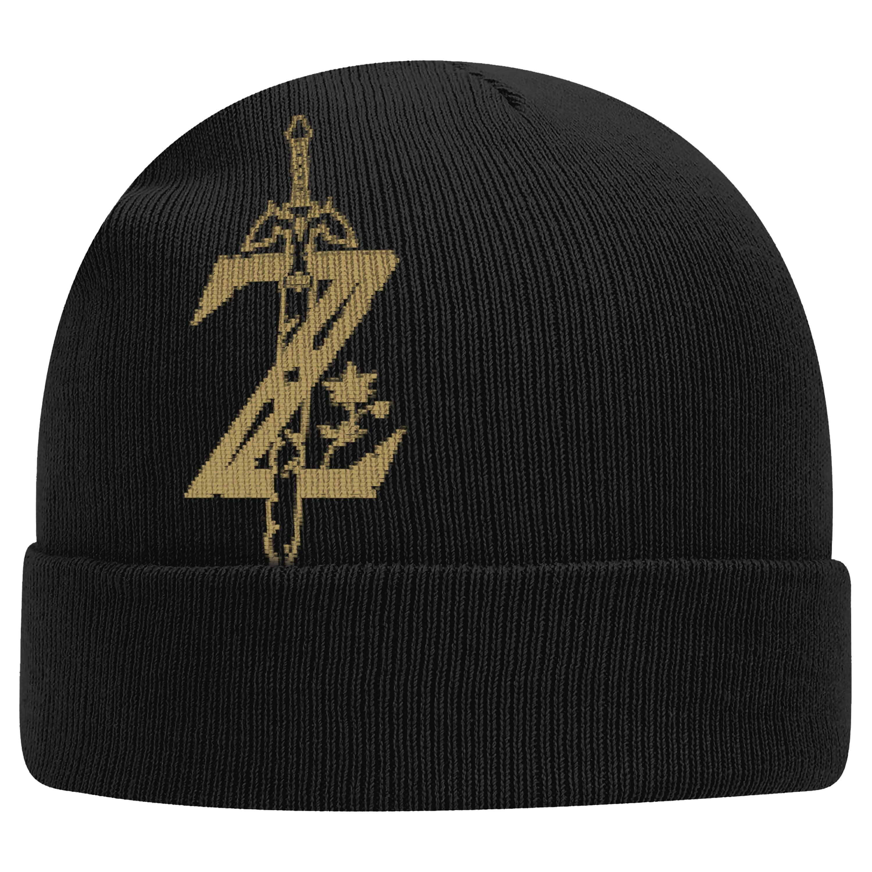 "The Legend of Zelda: Breath of the Wild™ ""Z with Sword"" Knitted Cap - Officially Licensed by Nintendo"