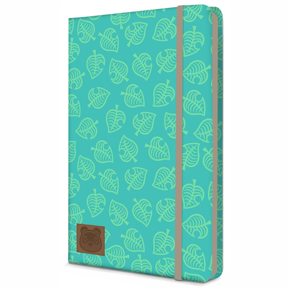 Animal Crossing - Journal - Teal leaves