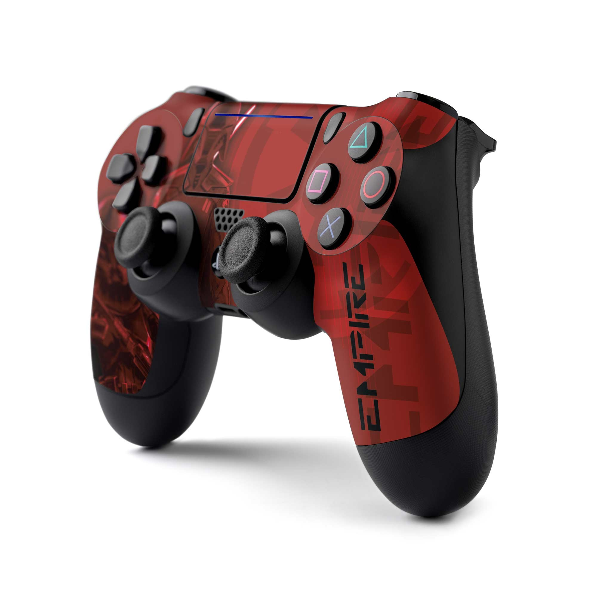 PS4 Controller Skin with a Star Wars Jedi Fallen Order Inquisitor/Purge Trooper Design, Image 1