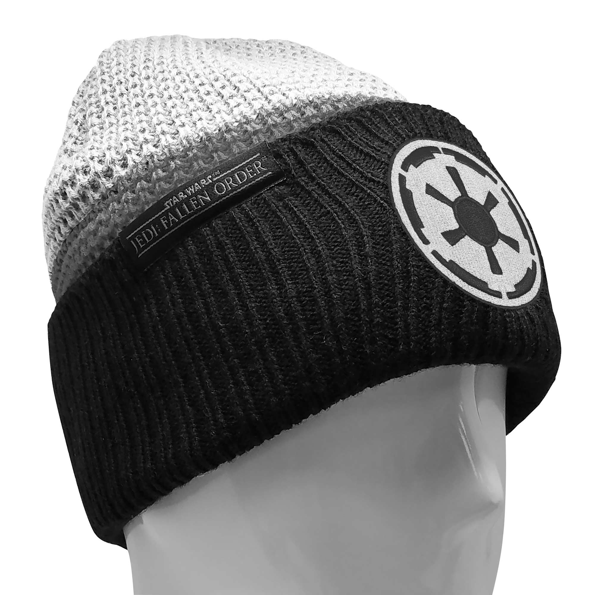 Star Wars Beanie with a Jedi Fallen Order Storm Trooper Patch, Image 1