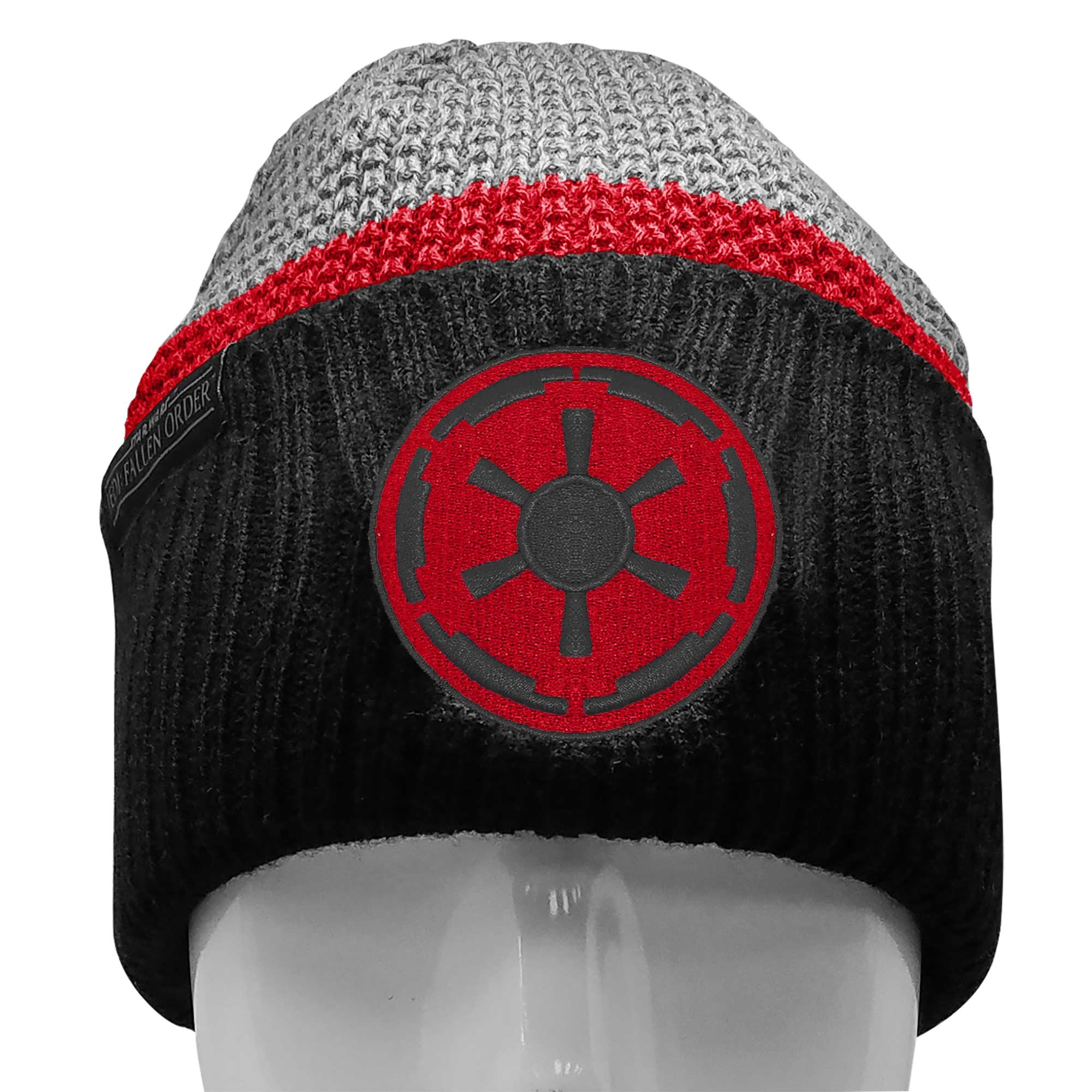 Star Wars Beanie with a Jedi Fallen Order Empire Patch, Image 1