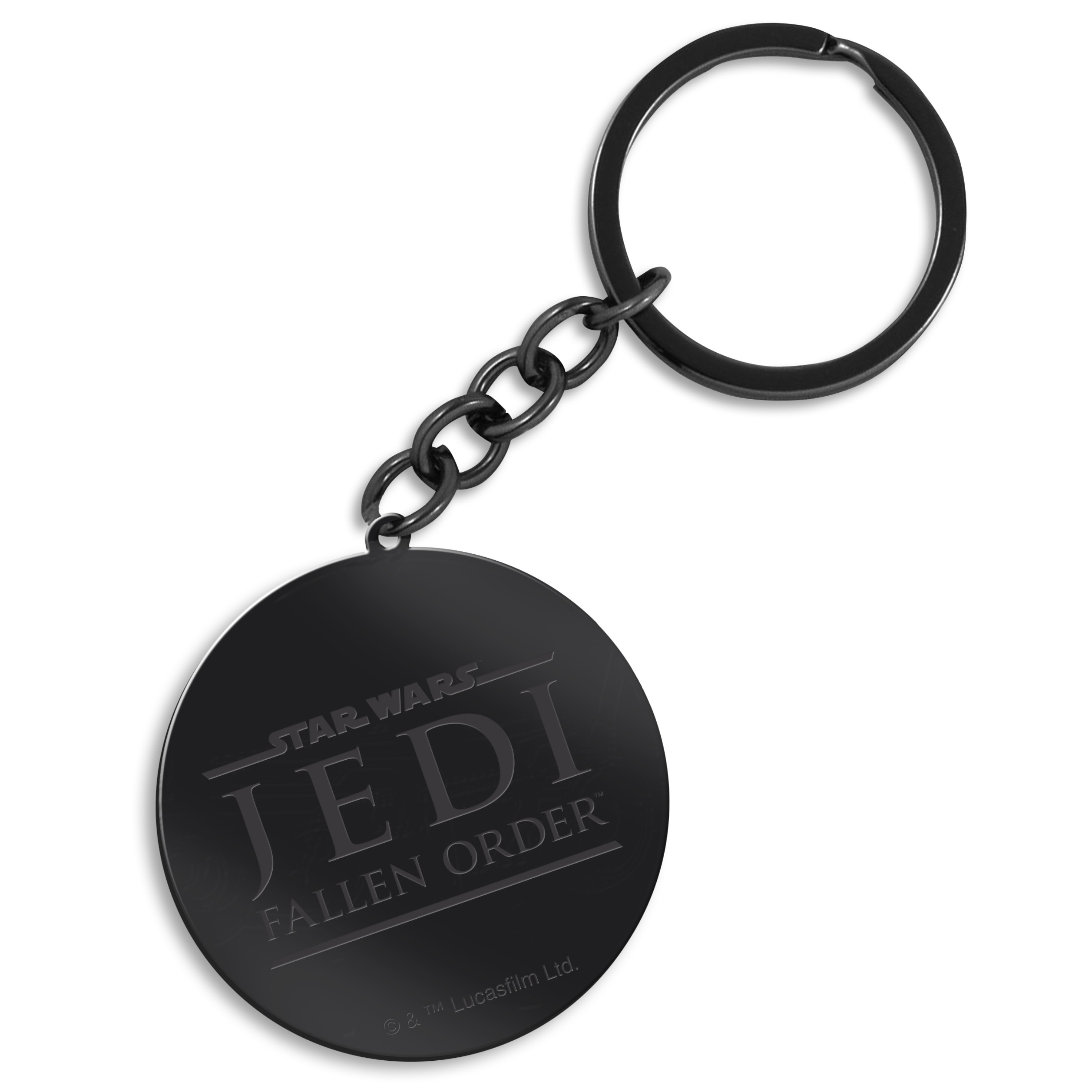 Star Wars Key Chain with a Fallen Order Jedi Logo, Image 1