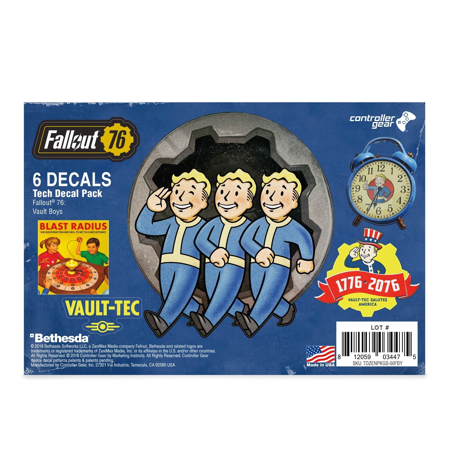 Fallout 76: Vault-Boys Tech Skin Pack - Officially Licensed by Bethesda