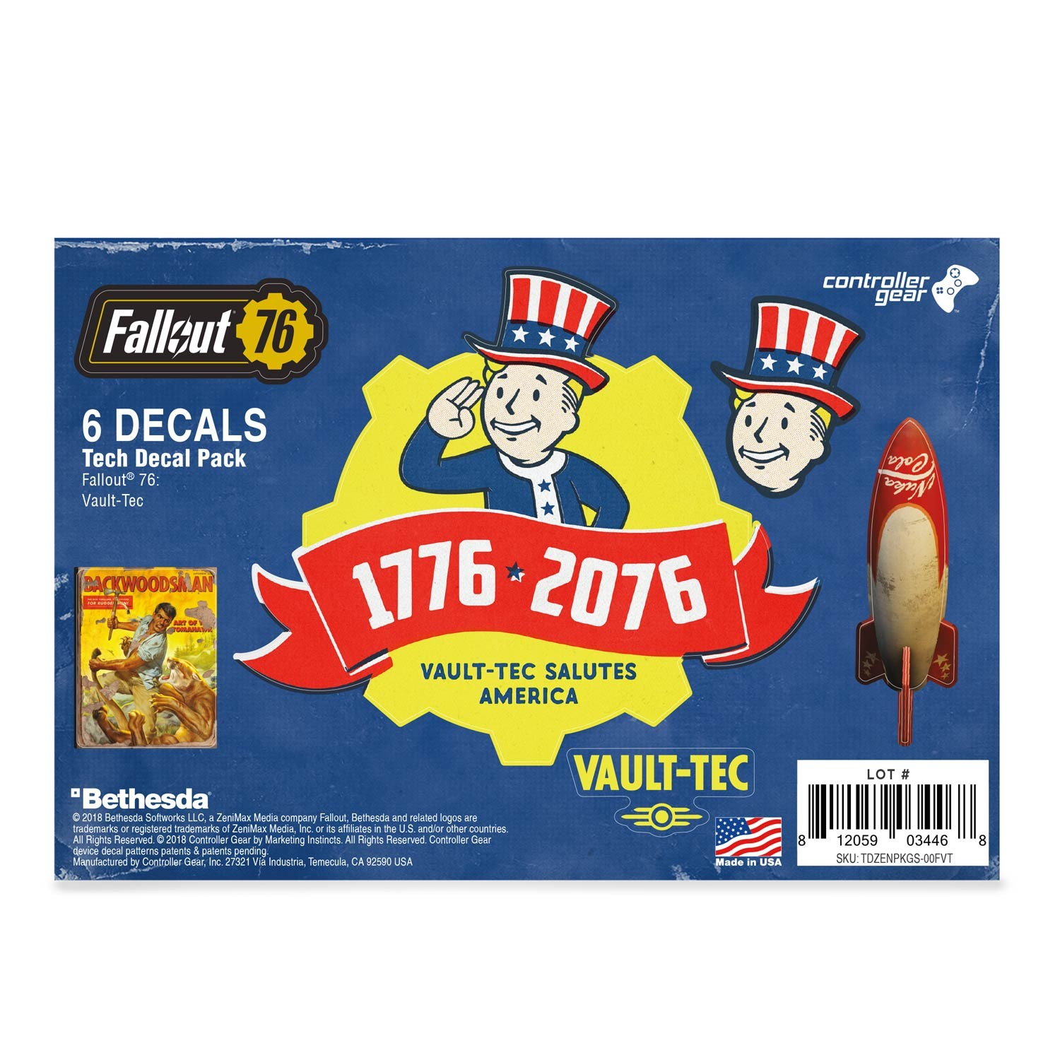 Fallout 76: Vault-Tec Tech Skin Pack - Officially Licensed by Bethesda