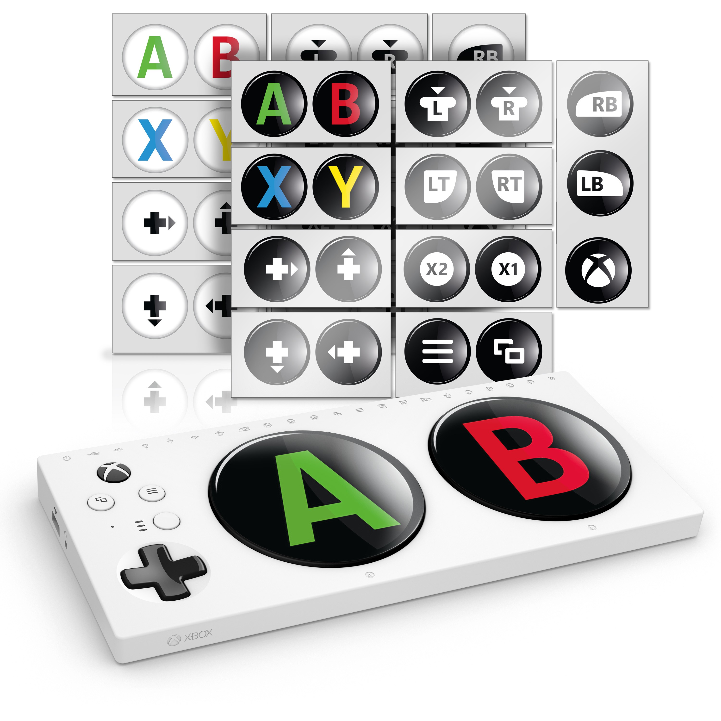 Xbox Adaptive Controller Skin: Buttons Pack
