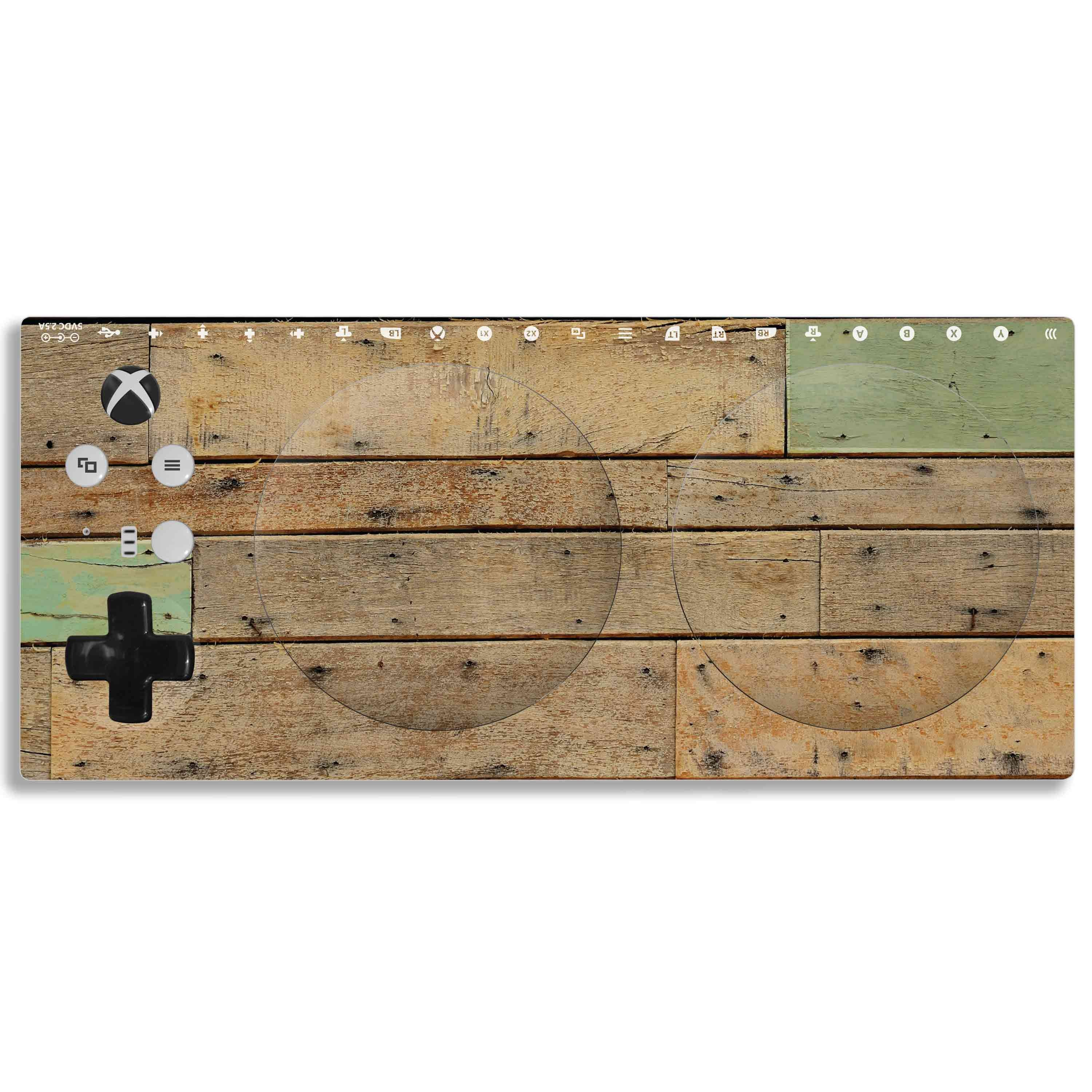 Xbox Adaptive Controller Skin: Reclaimed Wood