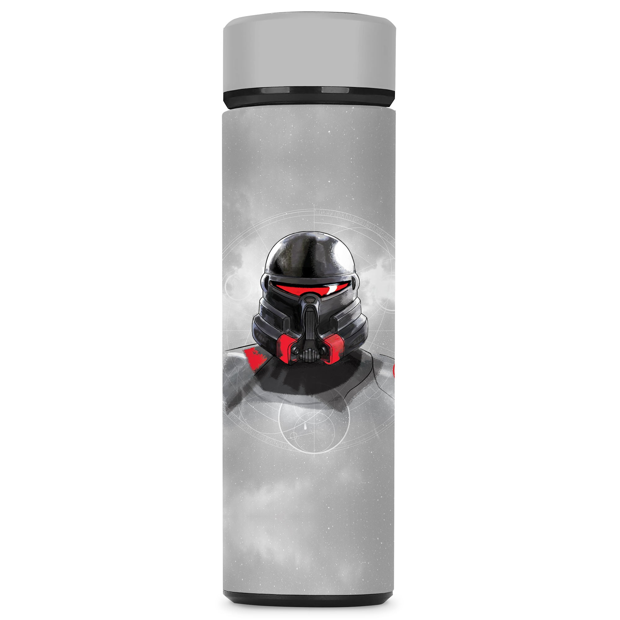 Star Wars Water Bottle with a Jedi Fallen Order Empire Trooper Design, Image 1