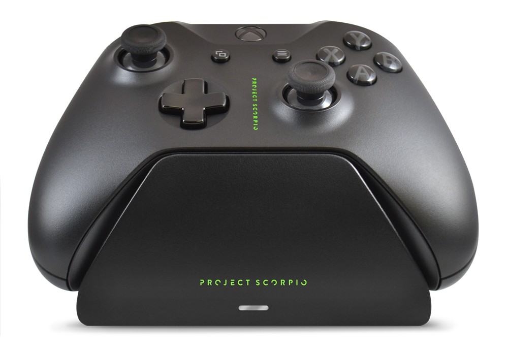 Xbox Pro Controller Charging Stand with a Project Scorpio Special Edition Design, Image 1